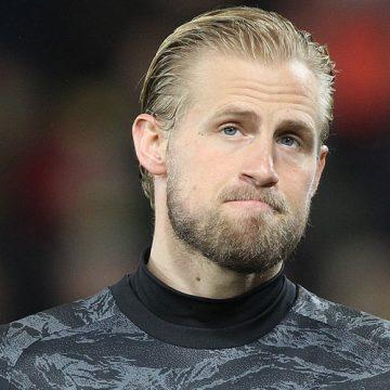 Kasper Schmeichel na Old Trafford?