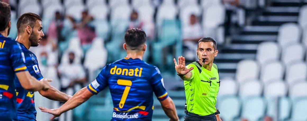 Lecce spada z Serie A