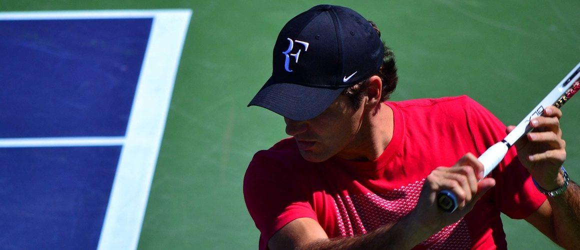 Roger Federer zagrał na… dachu