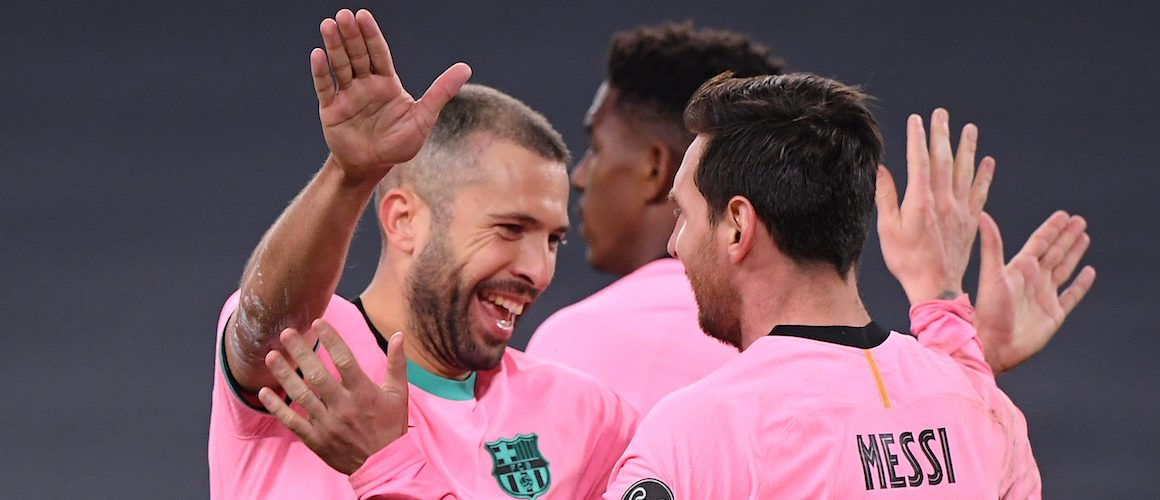 Barcelona lepsza od Juventusu. Pech Moraty