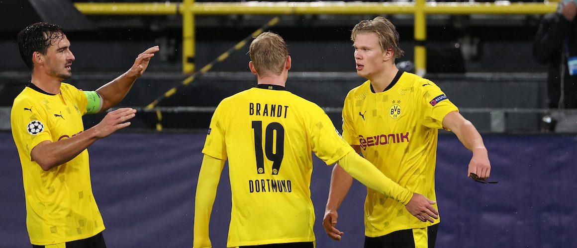 Borussia – Zenit 2:0. Haaland znów strzela