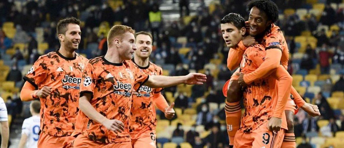 Juventus wygrywa w Kijowie. Morata zastępuje Ronaldo