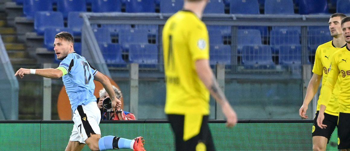 Lazio nie daje szans Borussii. Immobile trafia do siatki byłego klubu