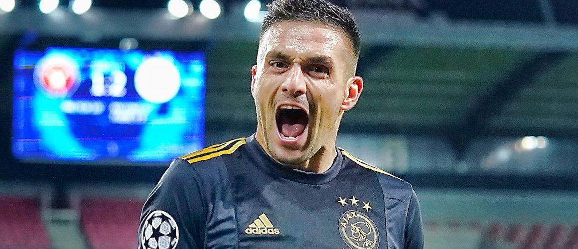 Ajax radzi sobie w osłabieniu. Szybkie gole Holendrów
