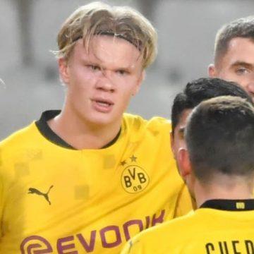 Borussia wychodzi na prowadzenie. Haaland wyprzedza legendy