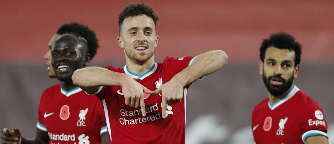 Liverpool wskakuje na szczyt. Jota wyrasta na nowego lidera?