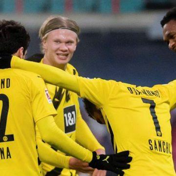 Borussia pokonuje Lipsk! Gole młodych gwiazd