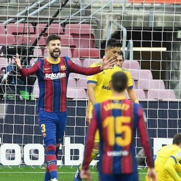 """Barcelona znów traci punkty z Cadiz. """"Jesteśmy sami sobie winni"""""""