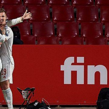 Szczęśliwe zwycięstwo Hiszpanów