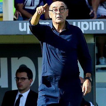 Maurizio Sarri trenerem Lazio