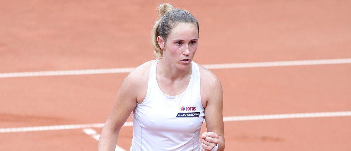 WTA 250 w Gdyni: Kawa w 2. rundzie