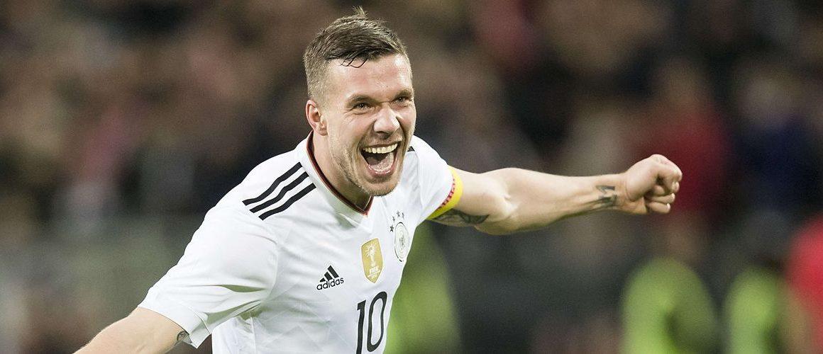 Lukas Podolski dotrzymał obietnicy