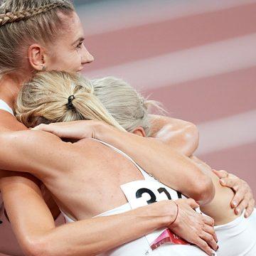 Sztafeta kobiet ze srebrnym medalem igrzysk olimpijskich!
