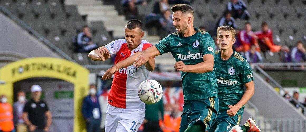 Legia – Slavia, bój o Ligę Europy