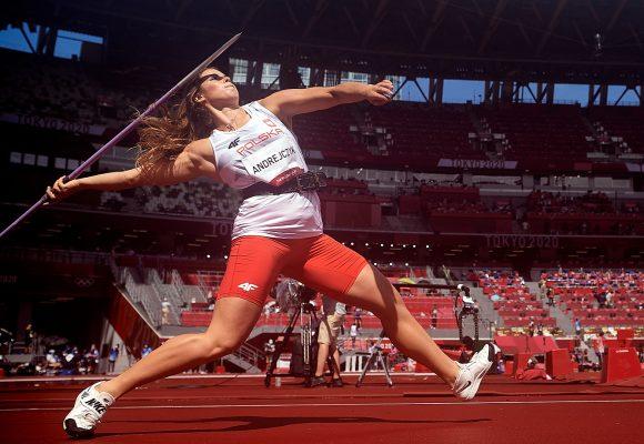 Tokio 2020: Maria Andrejczyk ze srebrnym medalem