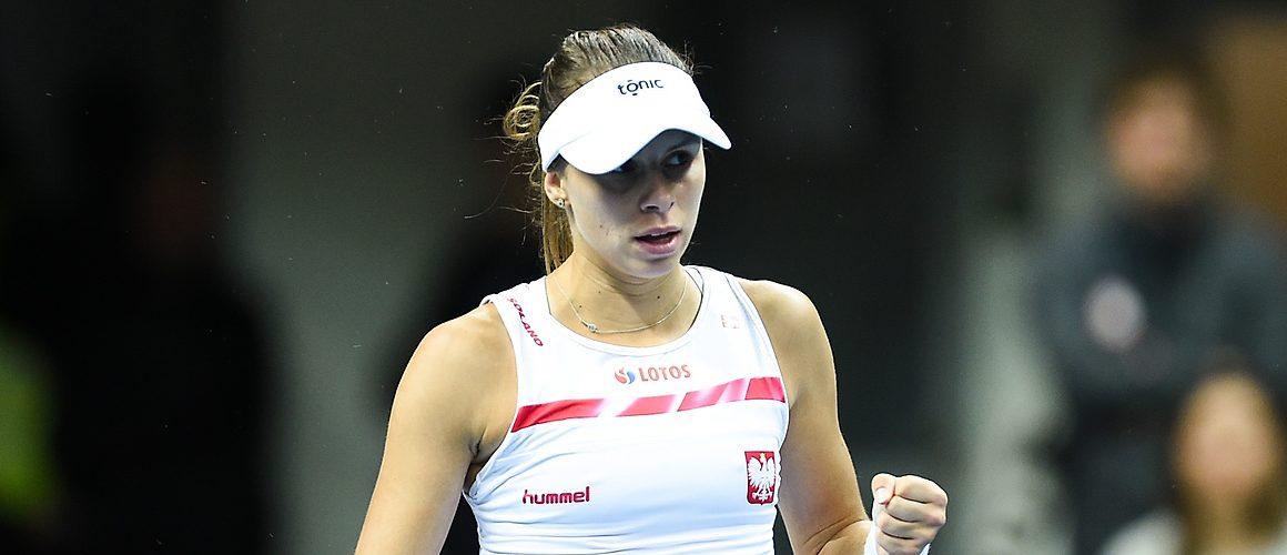 Magda Linette w 2. rundzie w San Jose