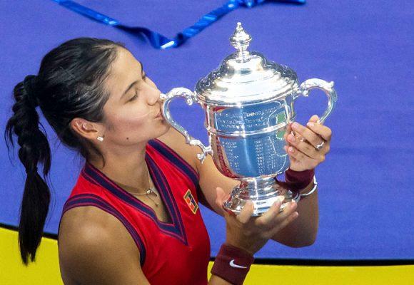 US Open 2021: Raducanu i Miedwiediew z trofeami