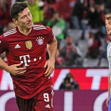 Bundesliga: hat-trick Lewego, Byki pokonane przez Wilki